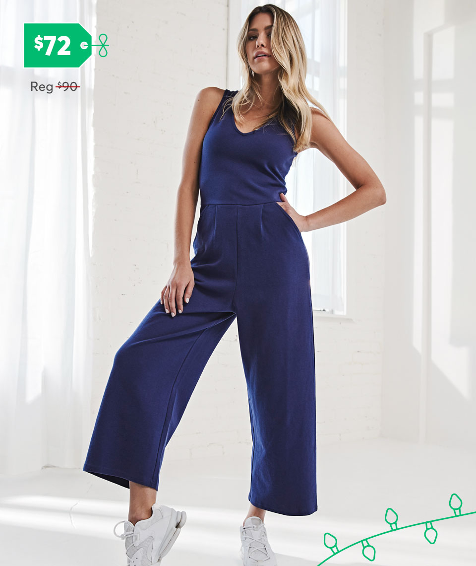 The new Luxe Wide-Leg Jumpsuit