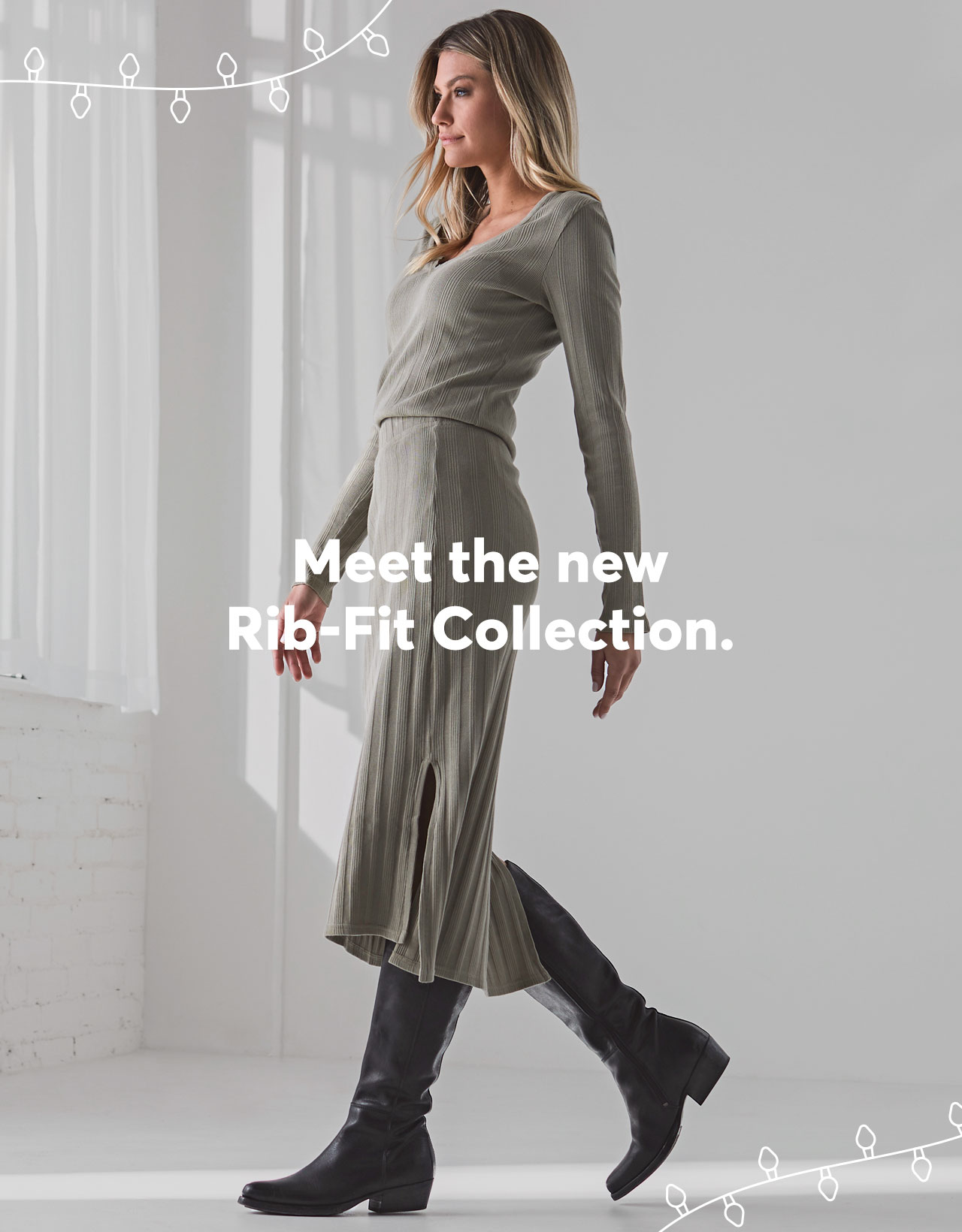 Meet the new Rib-Fit Collection